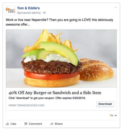 facebook ads local restaurant
