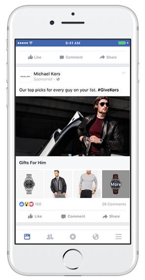 facebook collection ad