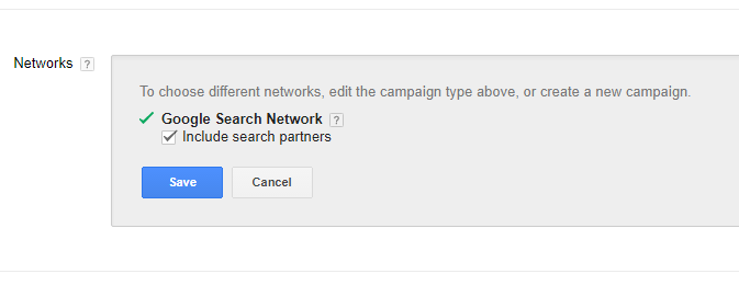 Search Network Screenshots