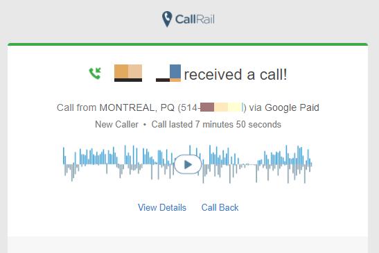 callrail call recording for contractors