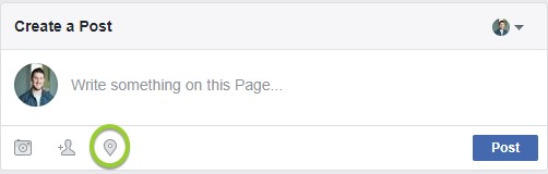 location tagging facebook