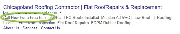 google ads cta